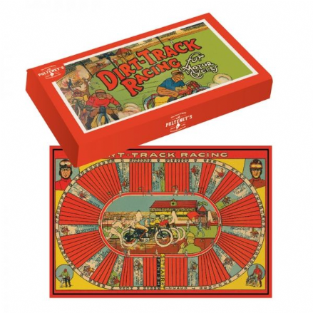 Dirt Track Racing Board Game